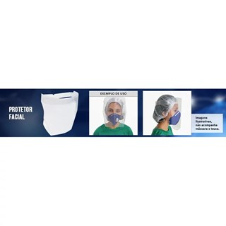 Mascara Protetor Facial Shield Kit C/10 Unidades - Acp